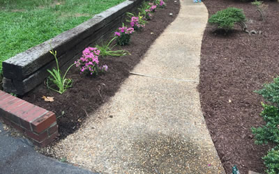 Garden Bed Design And Construction Hanover County VA.