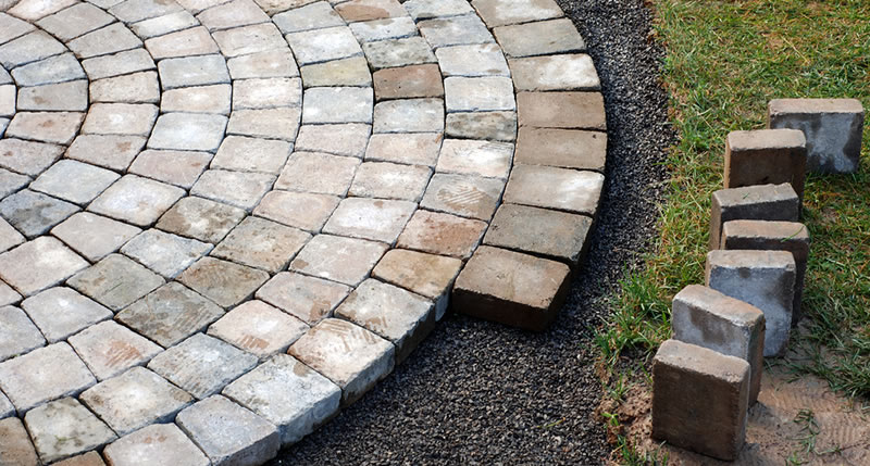 Interlocking Brick Patios And Driveway Construction Hanover County Virginia