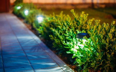 Landscape Lighting Installations Hanover County VA.