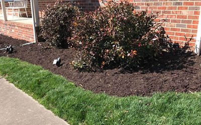 Mulch Installation Hanover County Virginia.